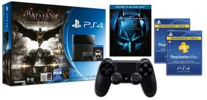[Amazon.fr Prime Day] Playstation 4 + Batman Arkham Knight Spiel + Controller + 6 Monate PS Plus (FR) + Trilogie Blu-ray The Dark Knight + Comics