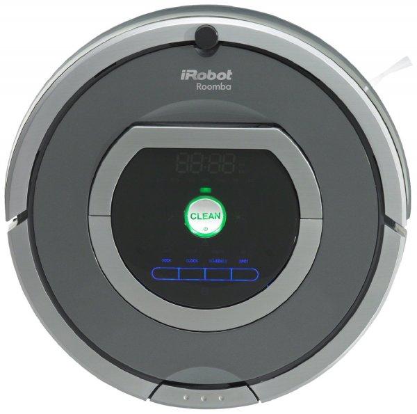 [Amazon Prime Day DE] iRobot Roomba 782 Staubsaug-Roboter (30 Watt, XLife Akku, 7 Programmzeiten) grau für 444 €