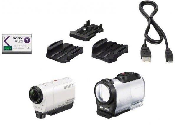 ( Ebay WOW Angebot ) Sony Action Kamera HDR-AZ1 Mini Cam 11,9 Megapixel, NEU OVP, Weiß