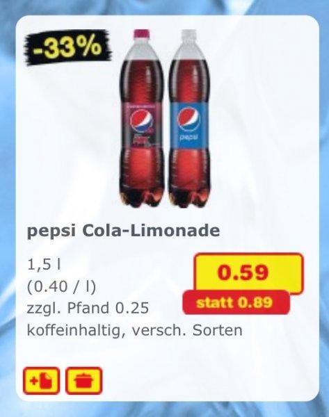 Pepsi Cola Limonade Netto