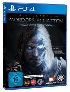 [Amazon Prime Day] - Mittelerde: Mordors Schatten - Game of the Year Edition - [PlayStation 4]