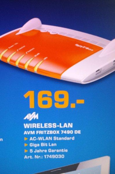 AVM Fritzbox 7490 (Router/Modem) Saturn (bisher Wuppertal,Nürnberg, Fürth vllt. mehr?) /Local bis 18.07.2015