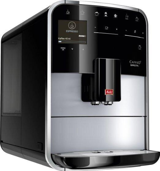 Melitta F 731-101 Premium Kaffeevollautomat Caffeo Barista T, silber/schwarz Amazon Blitz Deal