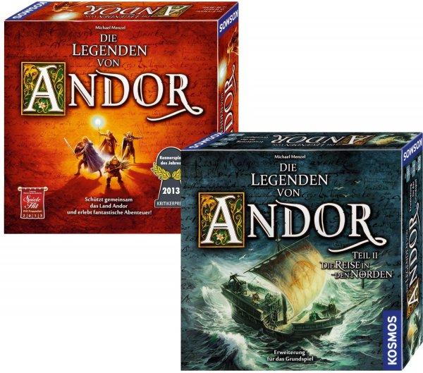 [Amazon Prime Day] Bundle - Die Legenden von Andor und die Reise in den Norden, Brettspiel