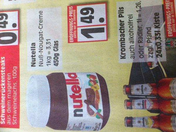 Lokal Nutella 1,49€ Steinfeld (Oldenburg)