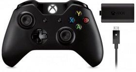 [Rakuten.de] Microsoft Xbox One Wireless Controller + Play & Charge Kit für 43,-€ Versandkostenfrei