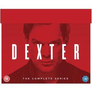 Dexter - Die komplette Serie (DVD) OT für 44,22€ @Zavvi.com