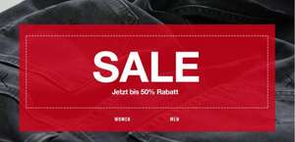 50% Sale bei Mustang