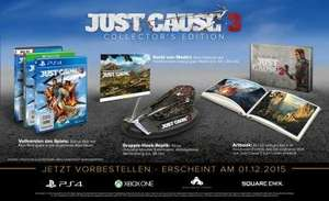 Just Cause 3 - Collectors Edition (exkl. bei Amazon.de) [Xbox One & PS4]