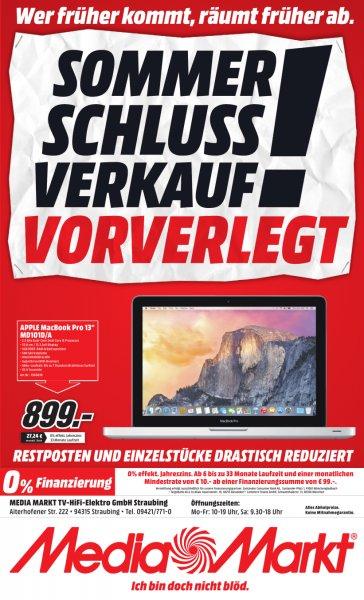 """[lokal Straubing] Apple MacBook Pro 13"""" MD101D/A für 899€"""