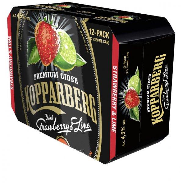 [Amazon Marktplace] Kopparberg Erdbeer - Lime Cider (12 x 0.33l)