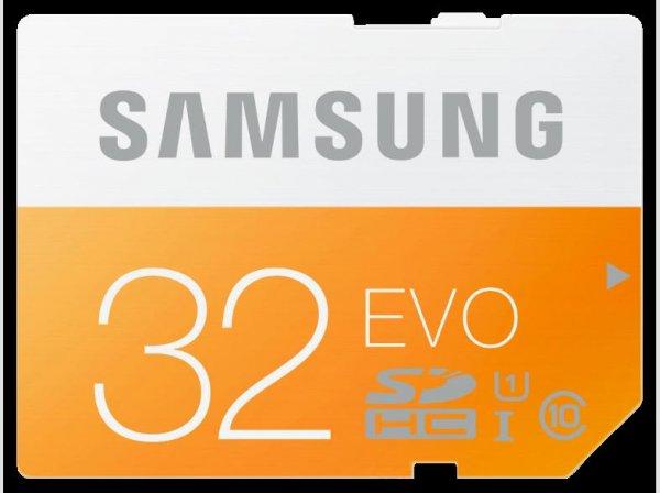 [Mediamarkt] SAMSUNG 32 GB SDHC Speicherkarte Class 10 EVO MB-SP32D für 10,-€ Versandkostenfrei