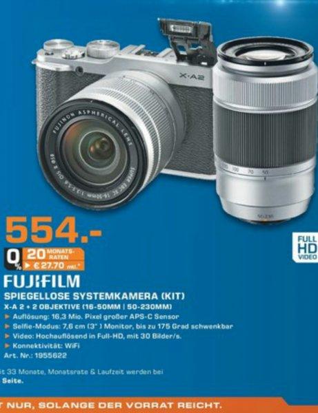 [Lokal Saturn Karlsruhe] Fujifilm X-A2 Systemkamera