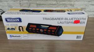 LOKAL Real Blankenburg Grosser Bluetooth Stereolautsprecher Watson AX4000B