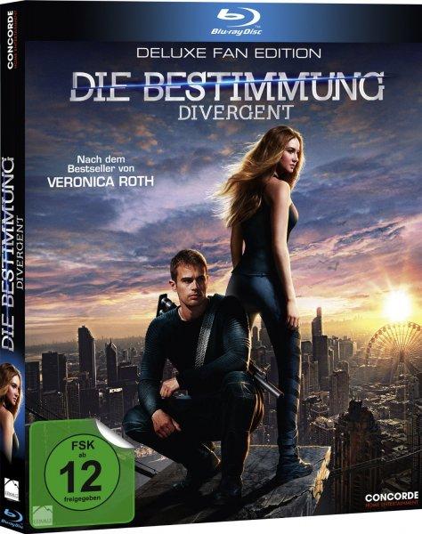 [Saturn & Amazon Prime] Die Bestimmung - Divergent (Bluray Special Edition) für 6,99€ versandkostenfrei