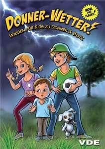 Donner-Wetter! Comic für Kids zu Donner & Blitz gratis (gedruckt oder Download)