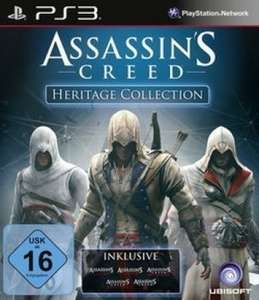 PS3 - Assassin's Creed: Heritage Collection (Assassin's Creed, Assassin's Creed II, Assassin's Creed: Brotherhood, Assassin's Creed: Revelations, Assassin's Creed III)  heute nur 18,99 € zzgl. Versand