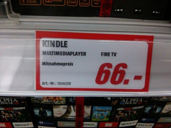 [Lokal] Mediamarkt Altona /Amazon Fire TV 66€