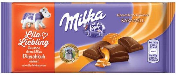 [lokal real Bannewitz] Milka 100g Karamell Abverkauf 0,49€