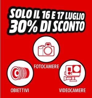 Media World Italien [Online / Offline] 30% Rabatt auf Kamera