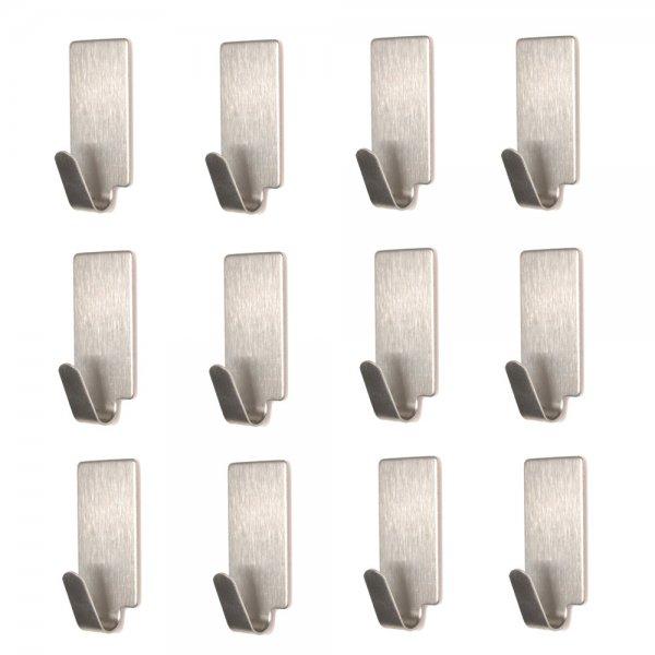 [eBay] Kleine Handtuchhaken, mit Klebepad, Edelstahl, 12 Stück, anstatt 6,95 € jetzt für 5,95 €