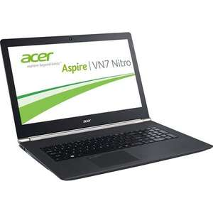 "Acer Notebook ""Aspire VN7-791G-541V"" Nitro Black Edition für 953,95€ @ ZackZack"