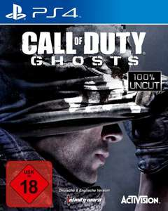 [Amazon.de] Call of Duty: Ghosts für PS4 nur 10€ + 5€ Strafversand