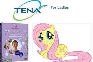 kostenlose Wellness DVD (Tena for Ladies)