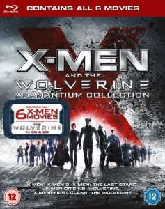 X-Men & The Wolverine Adamantium Collection [6x Blu-ray] für 20,80€ @Zavvi.coe