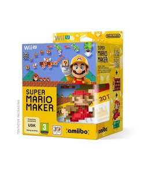 WiiU Mario Maker mit Amiibo Amazon