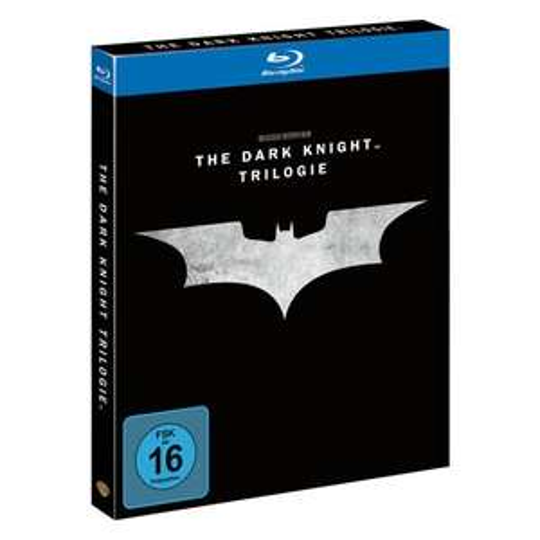 [Real.de] Batman-The Dark Knight Trilogy, Blu-Ray Box (5 Discs) für 15,-€ VSK Frei