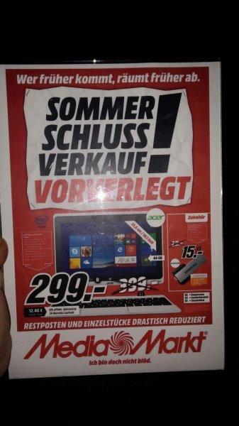 [Media Markt Köln] Acer Aspire Switch 10 für 299€ (nächster Preis 341€)
