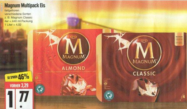 [Edeka Nord] Langnese Magnum Multipack Eis für 1,77 € (Angebot 20.07.2015 - 25.07.2015)