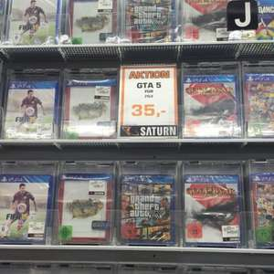Grand Theft Auto 5 GTA 5 Five Lokal Saturn Alexander Platz PS4 & XBOX One