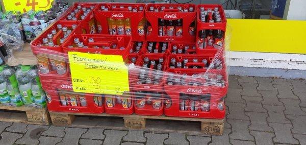 """[Lokal Schüttorf (Kreuz A30/A31)] 12 x 0,5 Liter-Kiste Mezzo Mix Zero / Fanta Zero bei """"Eiszeit"""" für 3,00€ (+ Pfand)"""