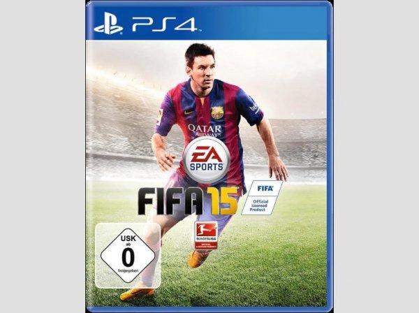 NUR HEUTE! PS4  und XBOX ONE FIFA 15 im Media Markt Hamburg Hummelsbüttel