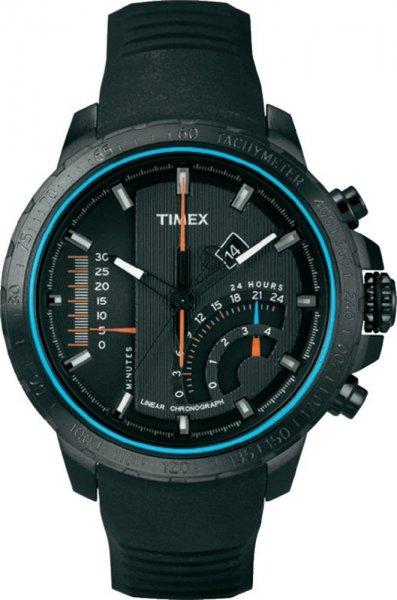 [uhr.de] Timex Linear Indicator Chrono T2P272 Herren Edelstahluhr mit Silikonarmband für 80,10€ incl.Versand!