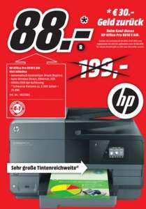 (Mediamarkt Wuppertal ) HP Officejet Pro 8610 e-All-in-One - Multifunktionsdrucker 88€ (- 30€ Cashback)