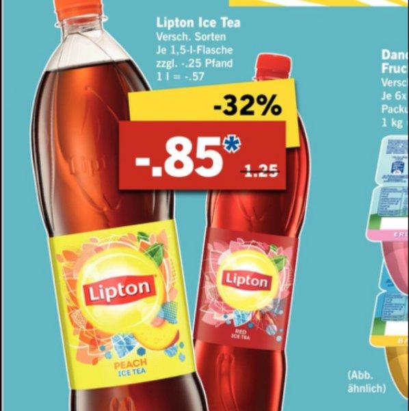 lipton ice Tea bei Lidl neue Woche 0,85€