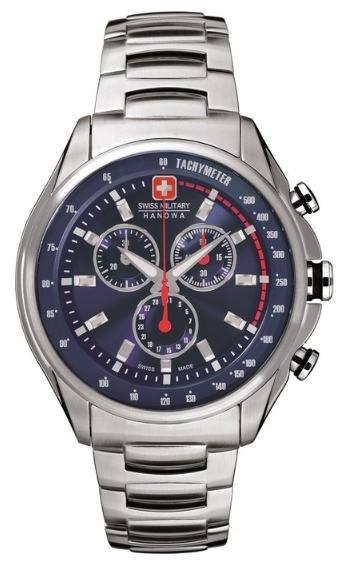 [Amazon Marketplace] Swiss Military Hanowa 06-5171.04.003 + 06-5171.04.001 Herren Edelstahl-Chronograph mit Saphirglas für 111€ incl.Versand!