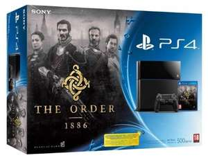 Playstation 4 + PS TV + Bloodborne + 3 Monate PS+ bzw. Playstation 4 + The Order 1886 + Bloodborne + 3 Monate PS+ - 407,30€ @ Amazon.fr