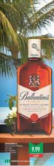 Ballantine's Scotch Whisky für 9,99€ @MarktKauf