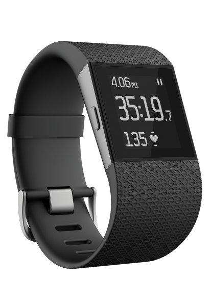 """FitBit Smartwatch """"SURGE"""", Fitnesstracker und Smartwatch (GPS, Bluetooth 4.0) für Android/iOS/WP, Größe L, versandkostenfrei für 189,90 €, @ZackZack"""