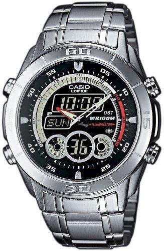 Casio Edifice Herren-Armbanduhr Analog-Digital Silber EFA-115D-1A1VEF @amazon Blitz