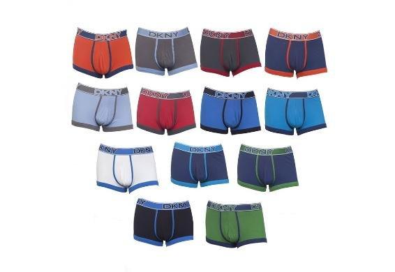 [3% Qipu] DKNY HUE 3er Pack Boxershorts S-M-L-XL 13 Farben für 27,95€ frei Haus @Dealclub