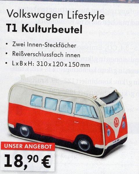 VW Lifestyle T1 Kulturbeutel
