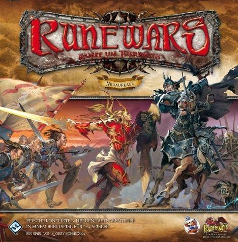 (Gesellschaftsspiel) Runewars - Kampf um Terrinoth - Neuauflage