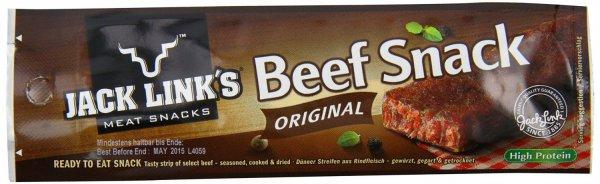 25x Jack Link´s Beef Snacks Original 9,99€
