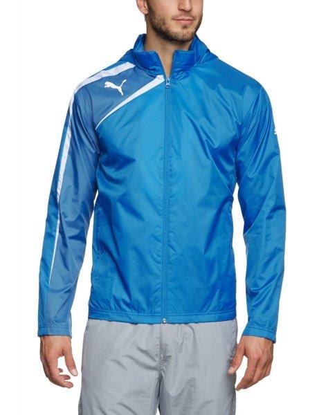 PUMA Herren Jacke - Spirit Rain Jacket / Farbe Blue-White / Größen M, XL, XXL / Preis: 11,98 € zzgl. Versandkosten / @Amazon