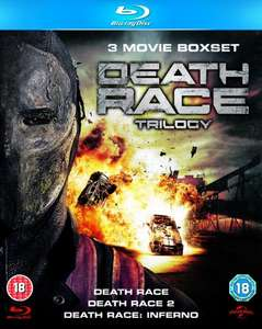 Death Race Trilogy [Blu-ray] (OT) für 12,17€ @Amazon.co.uk